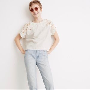 NWT Madewell x The New Denim Project Patchwork Top